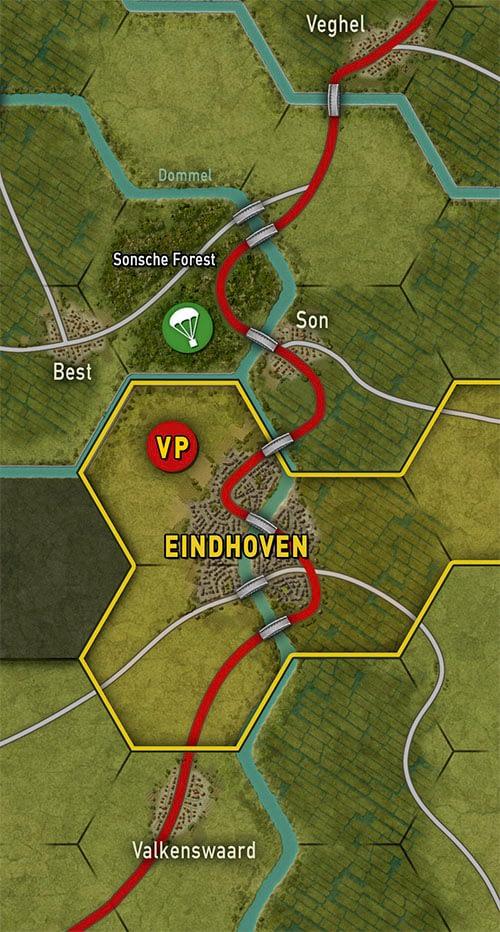 Market Garden Map Illustration