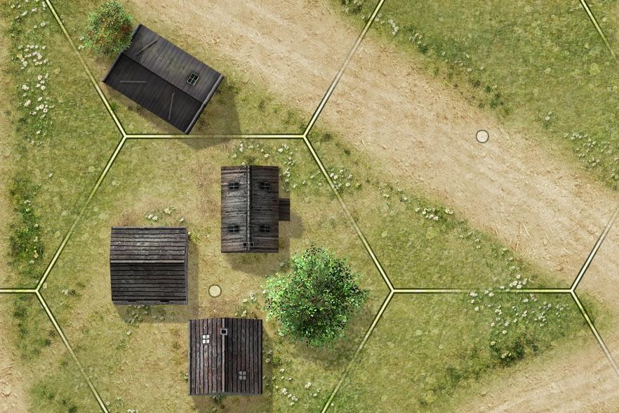 tactical wargame map artwork